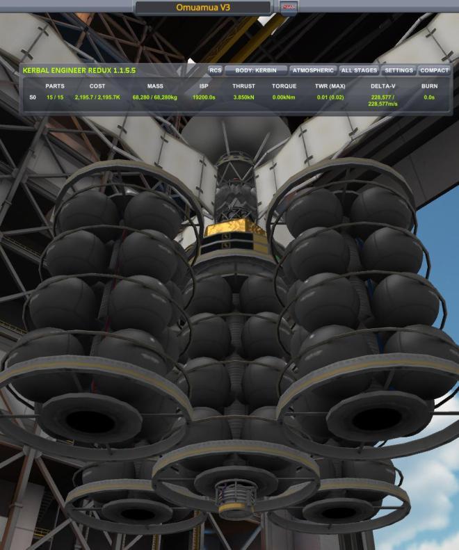 Emulating Omuamua Alien Spaceship with Kerbal – DeavidSedice's blog