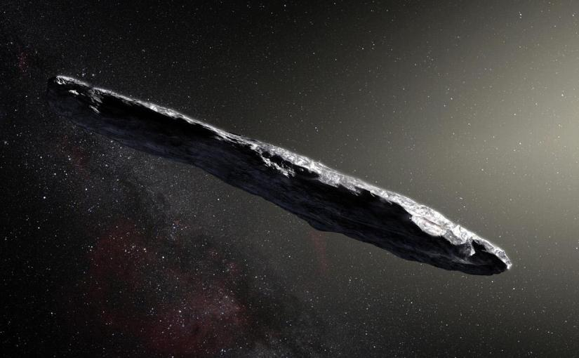 Emulating Omuamua Alien Spaceship withKerbal